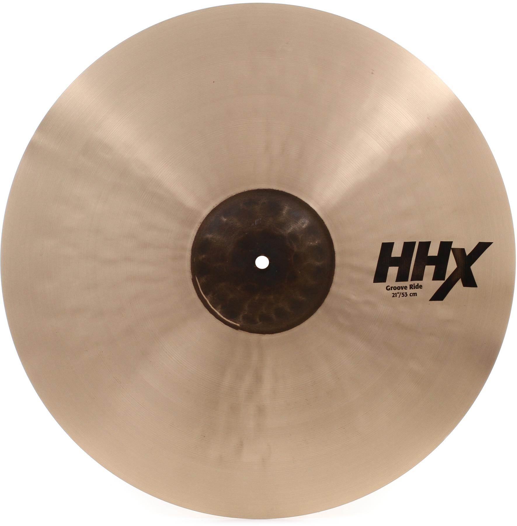"4. Sabian 21"" HHX Groove Ride"