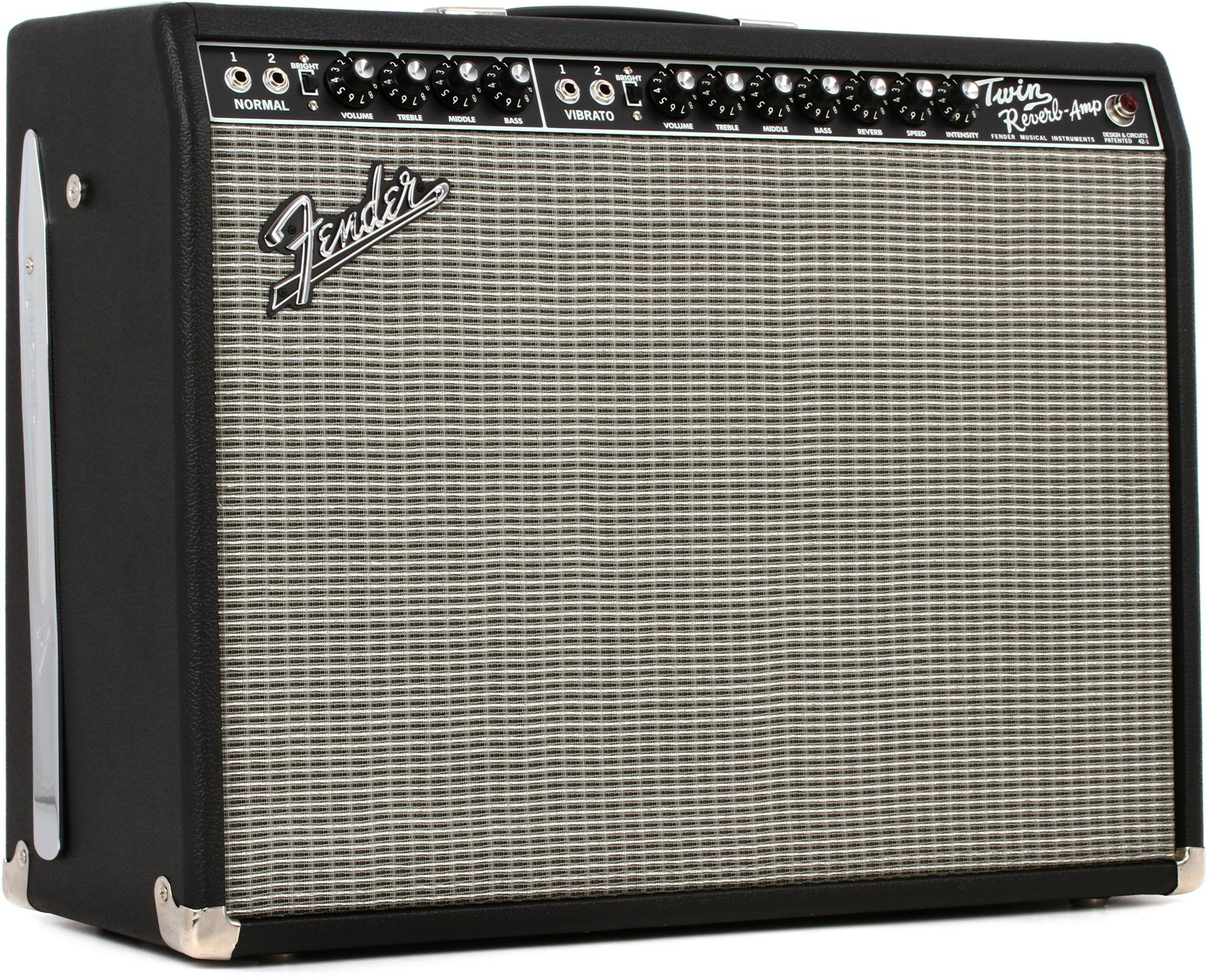 "Fender '65 Twin Reverb 2x12"" 85-watt Tube Combo Amp"