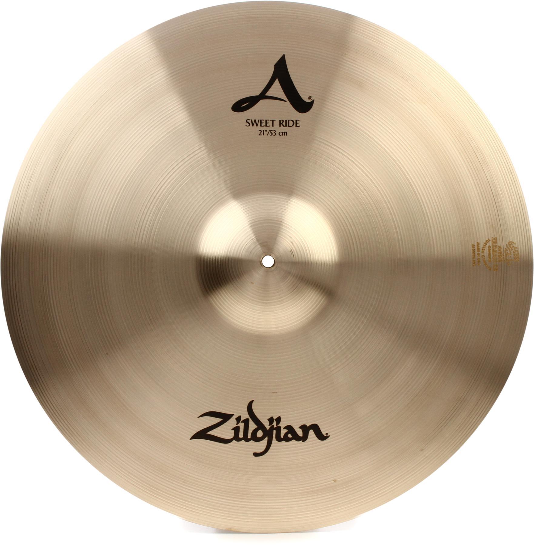 "3. Zildjian 21"" A-Series Sweet Ride"