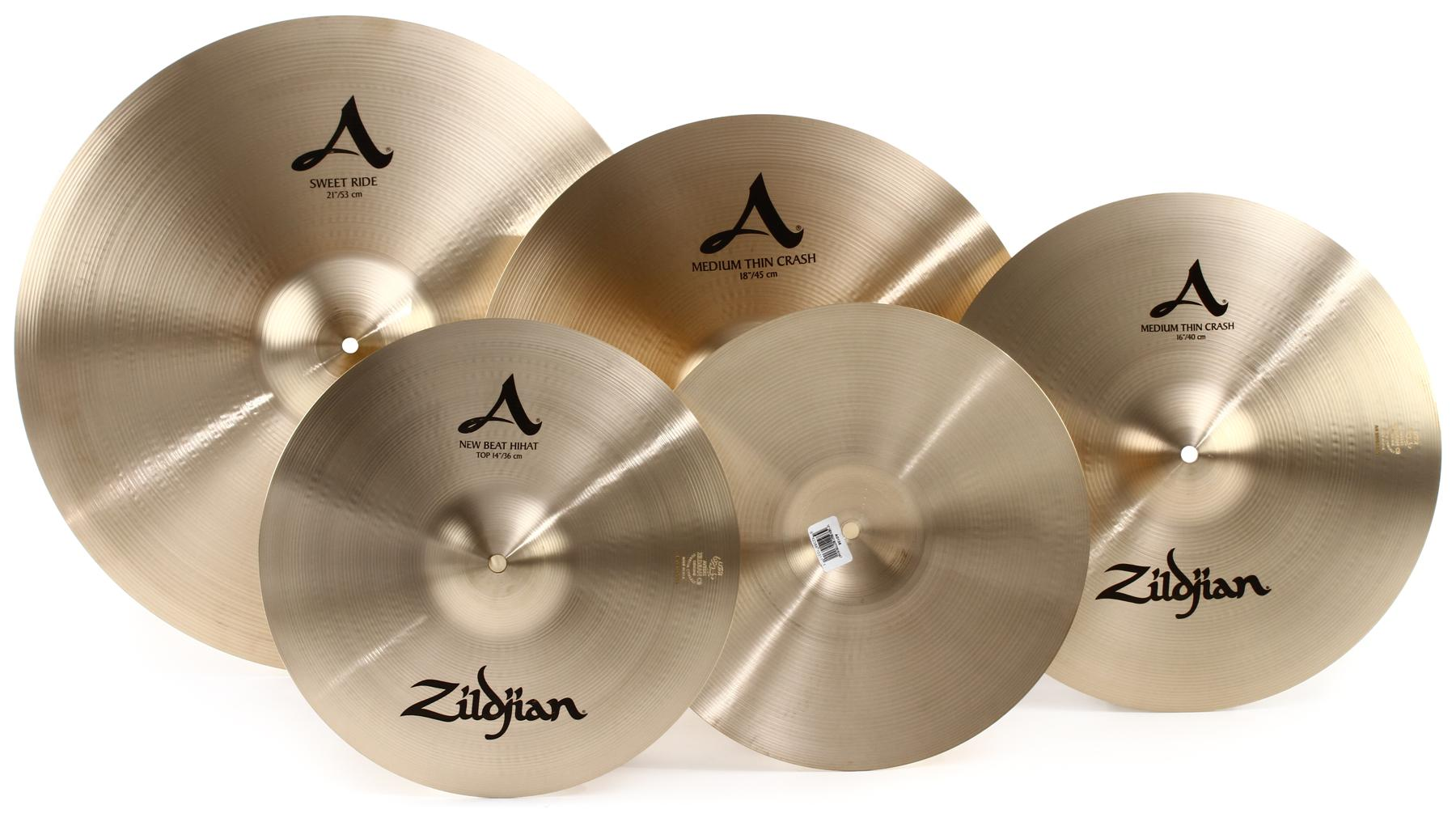 1. Zildjian Cymbal Sets