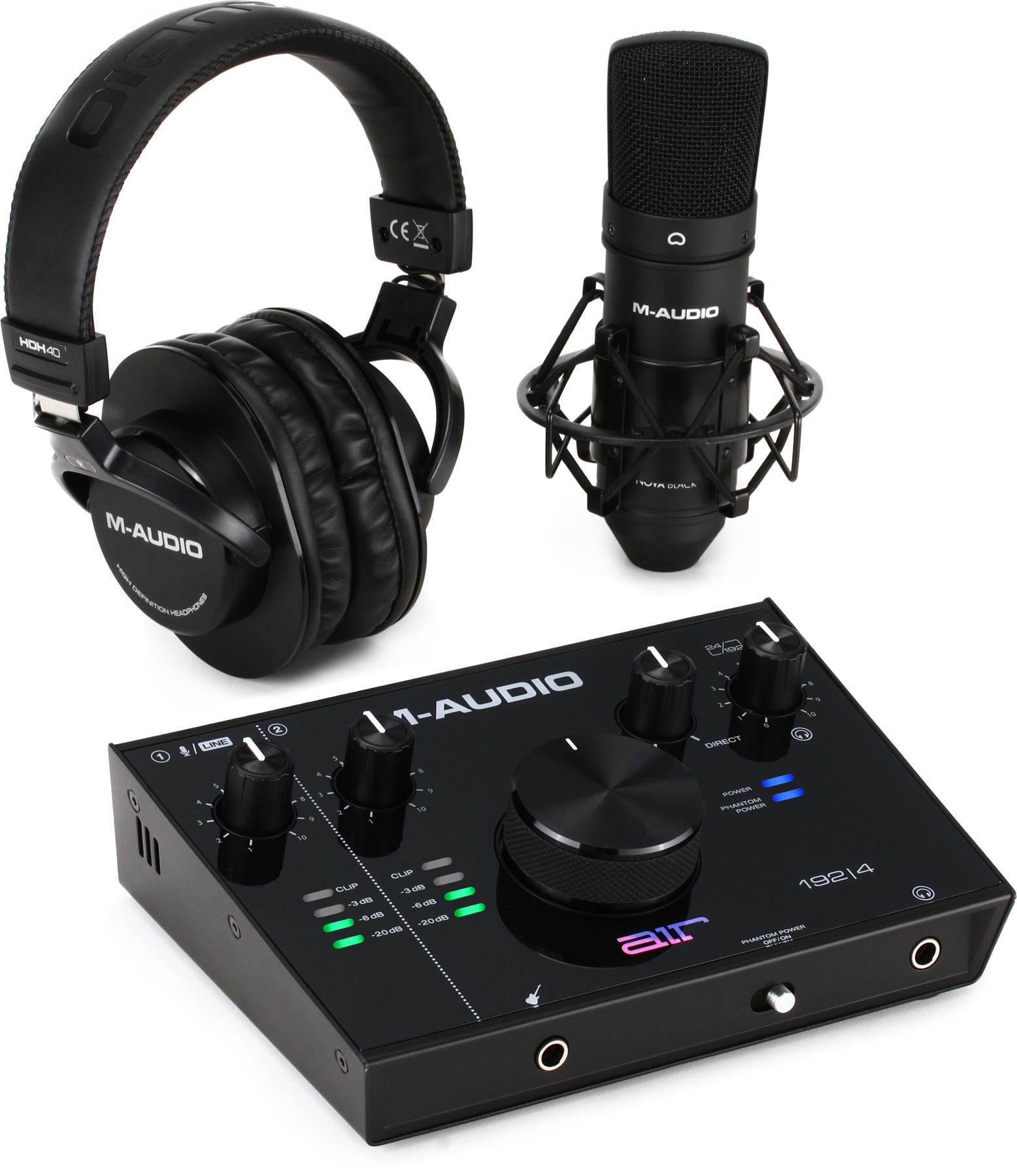 5. M-Audio AIR 192x4 Vocal Studio Pro