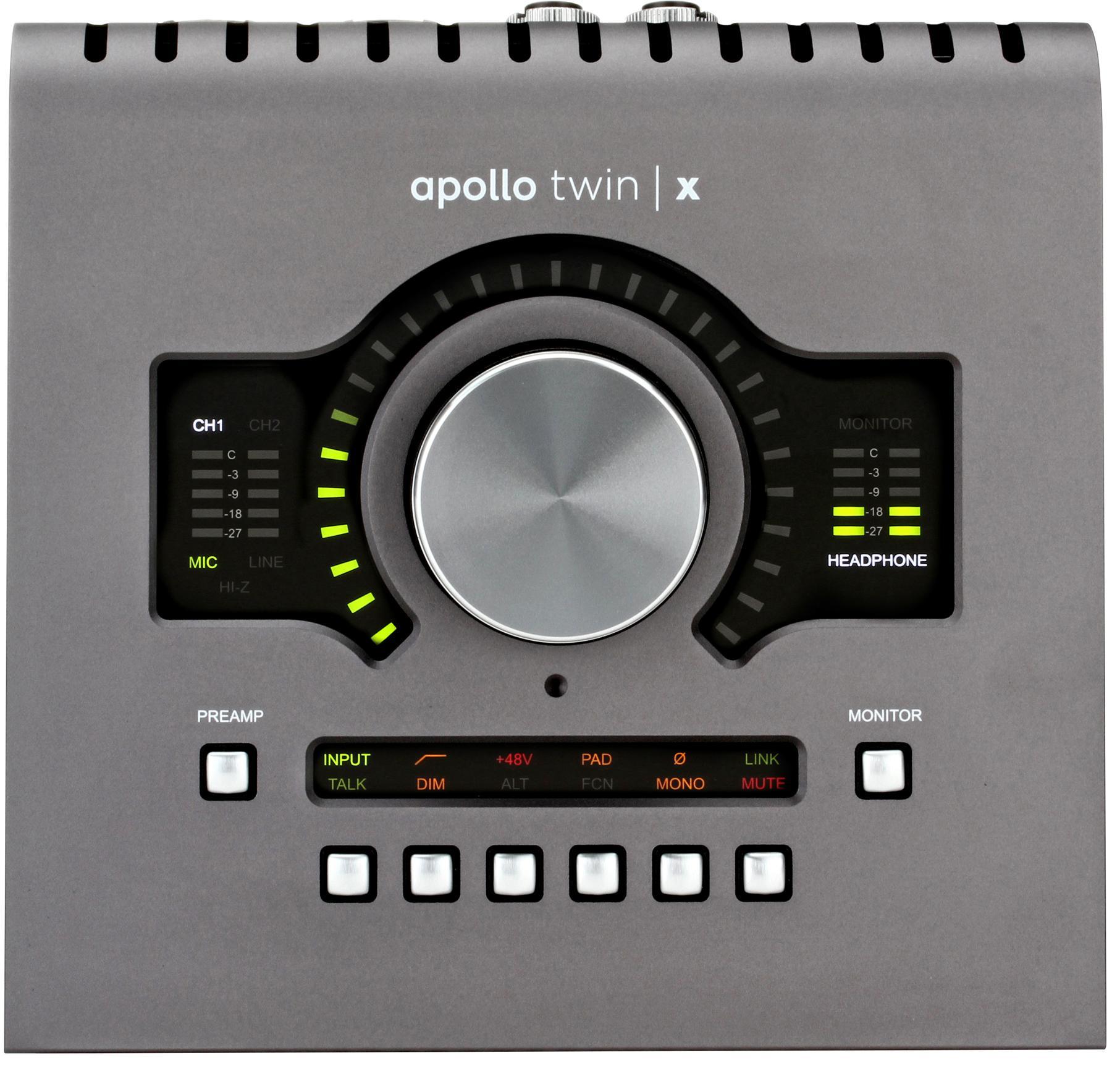 3. Universal Audio Apollo Twin X Duo