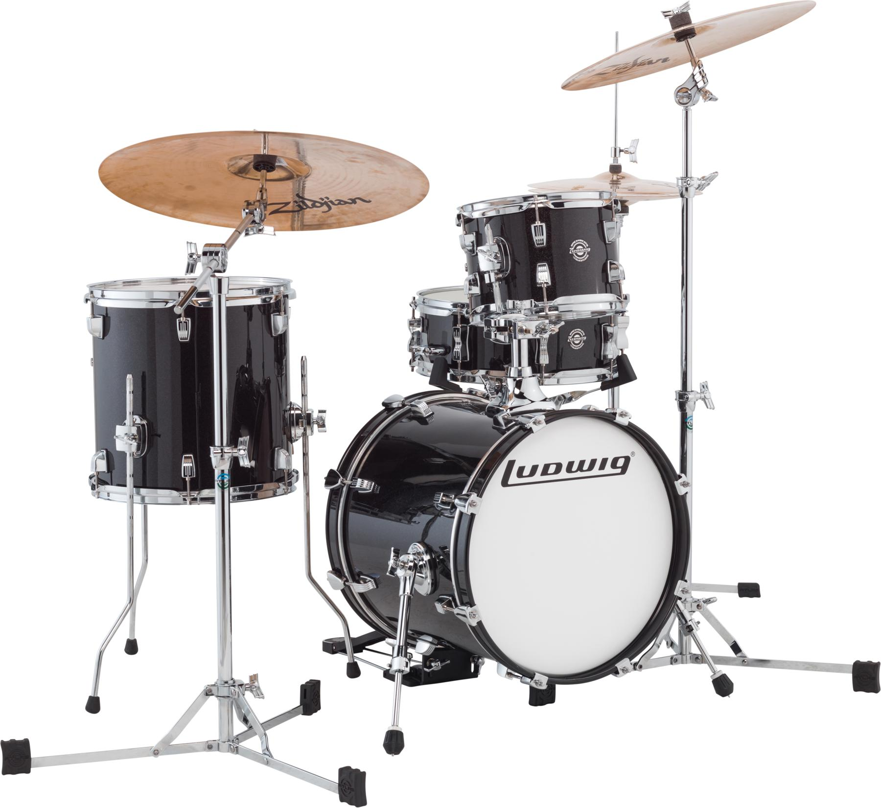 3. Ludwig Breakbeats By Questlove (4-Piece Shell Pack)