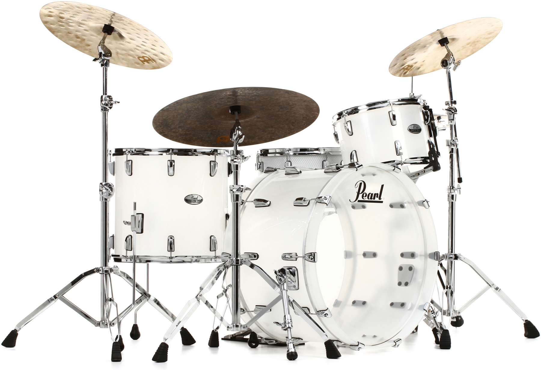 3. Pearl Crystal Beat Shell Pack 3-pc