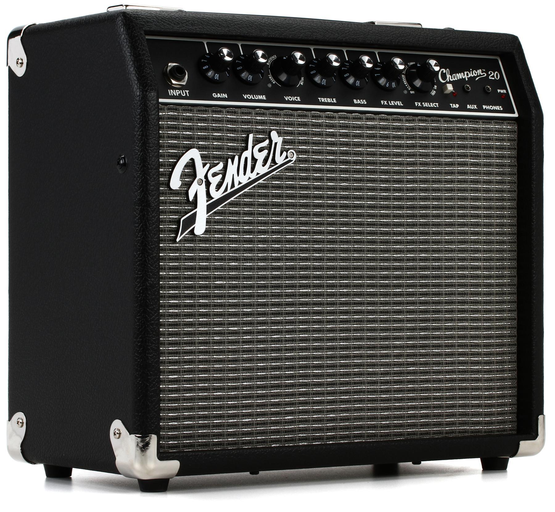 "6. Fender Champion 20 1x8"" 20-watt"