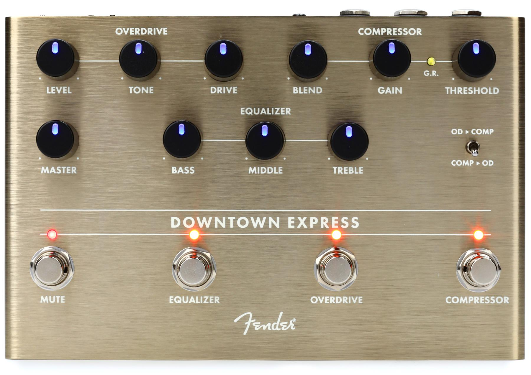 5. Fender Downtown Express Electric Bass Pedal