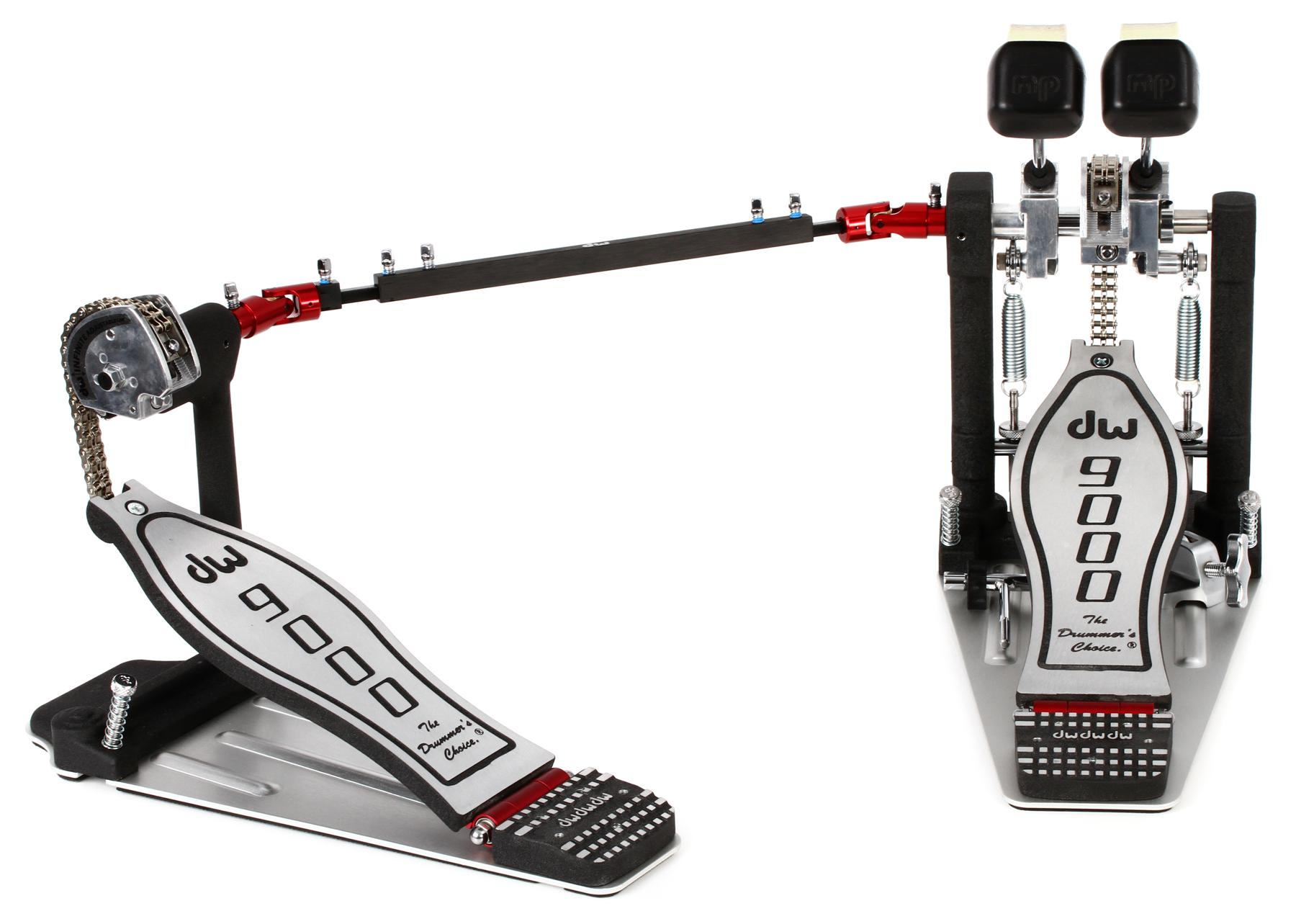 4. DW 9000 Double Bass Pedal