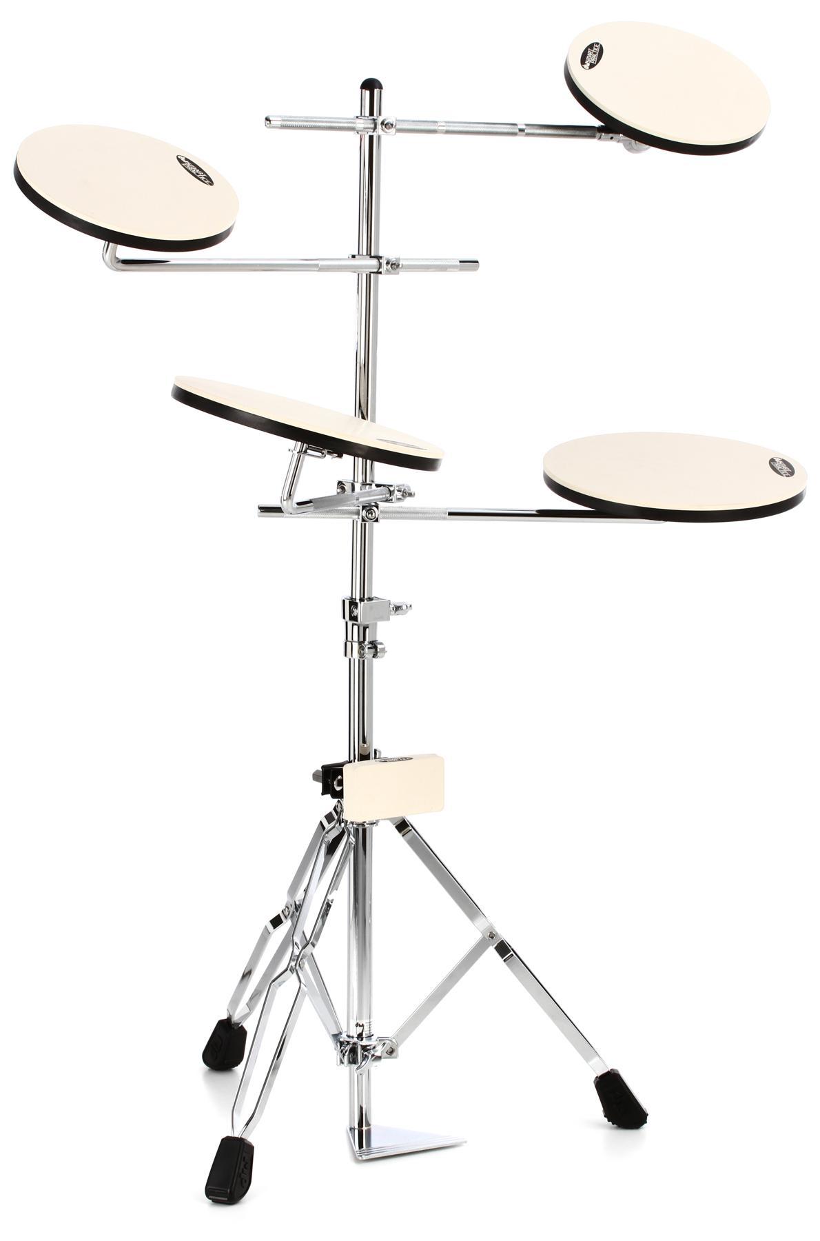 1. Drum Workshop Go Anywhere 5-Piece Set Practice Pad