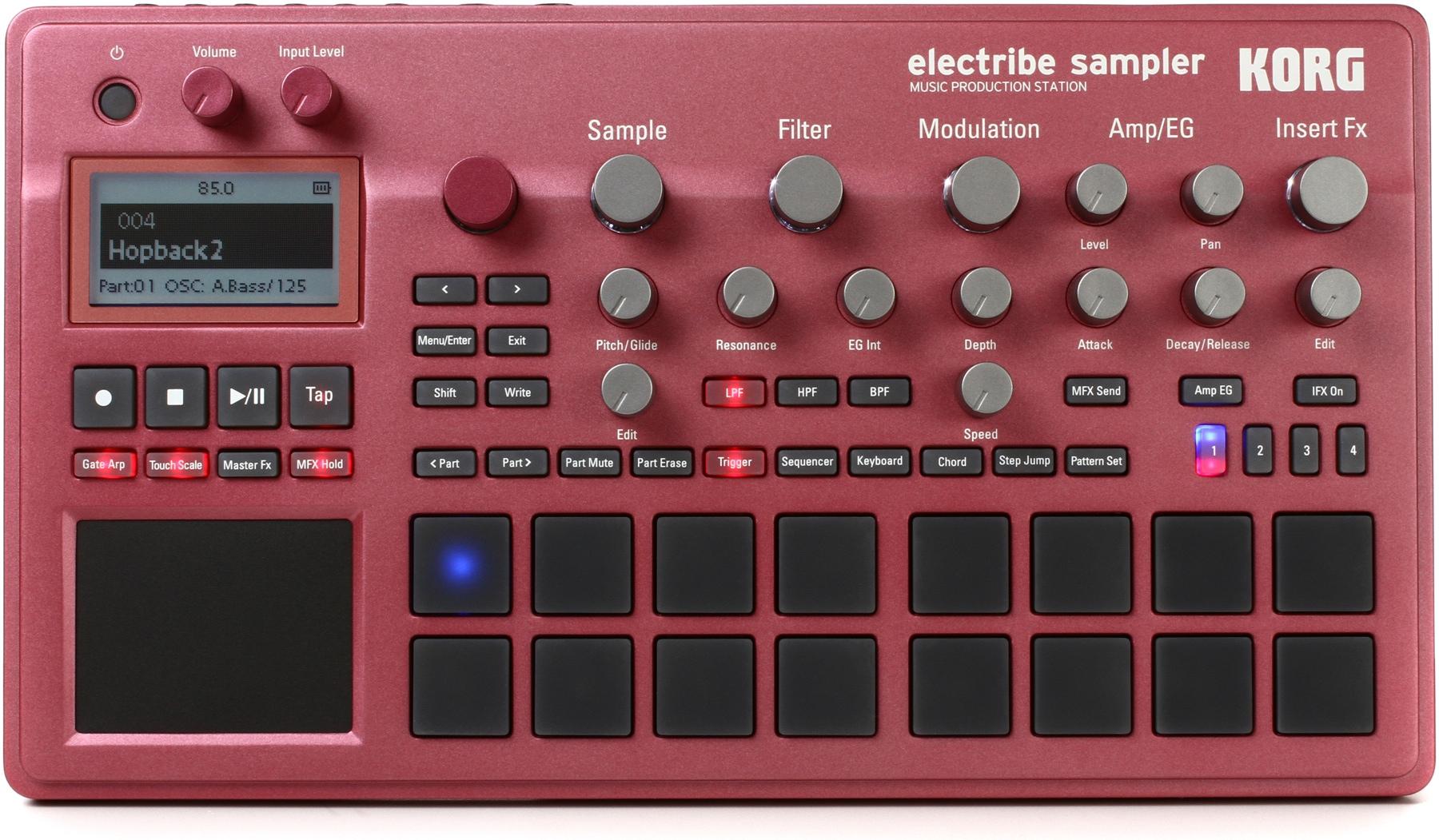 3. Korg Electribe Sampler, Metallic Red