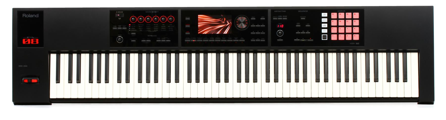 3. Roland 88-key Music Workstation (FA-08)
