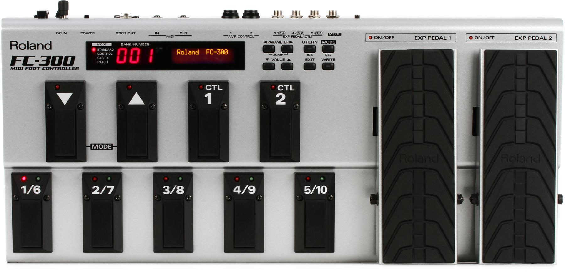6. Roland FC-300 MIDI Foot Controller