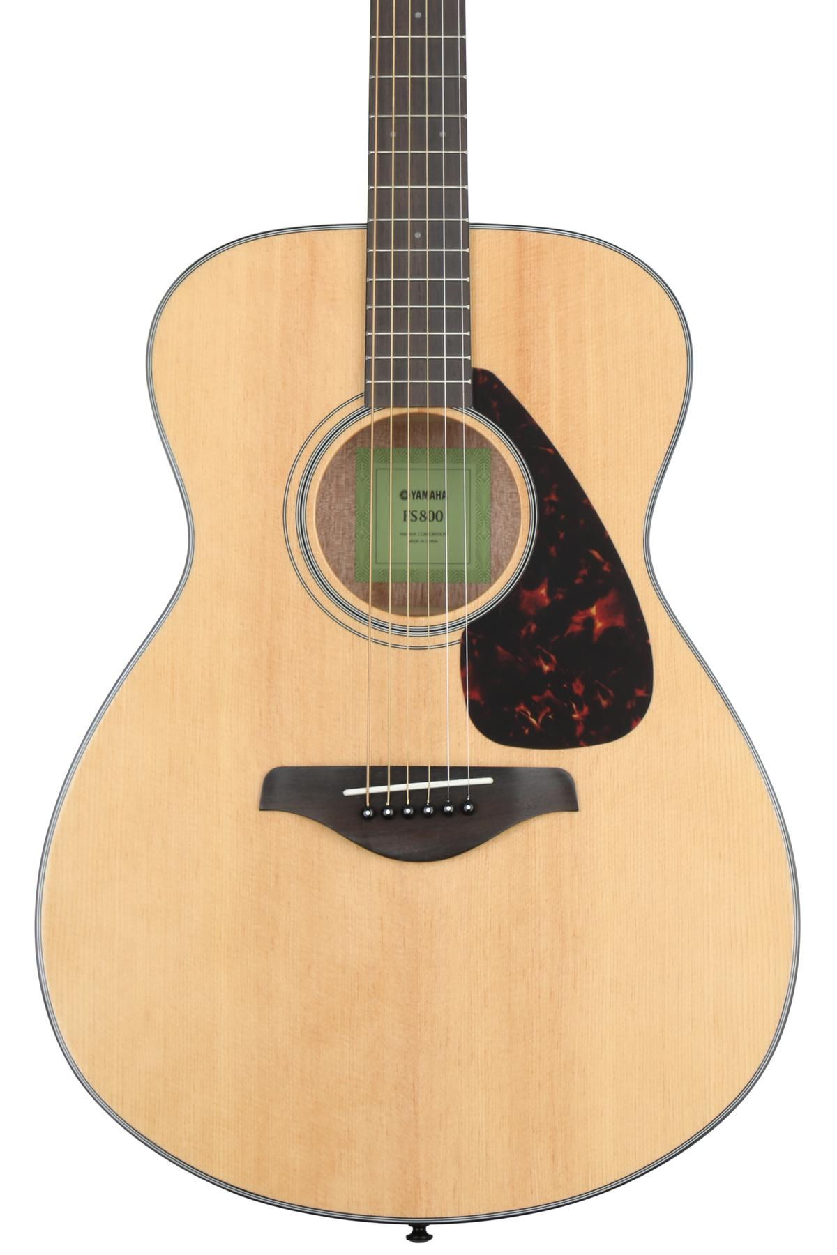 6. Yamaha FS800 Solid Top Small Body Acoustic Guitar