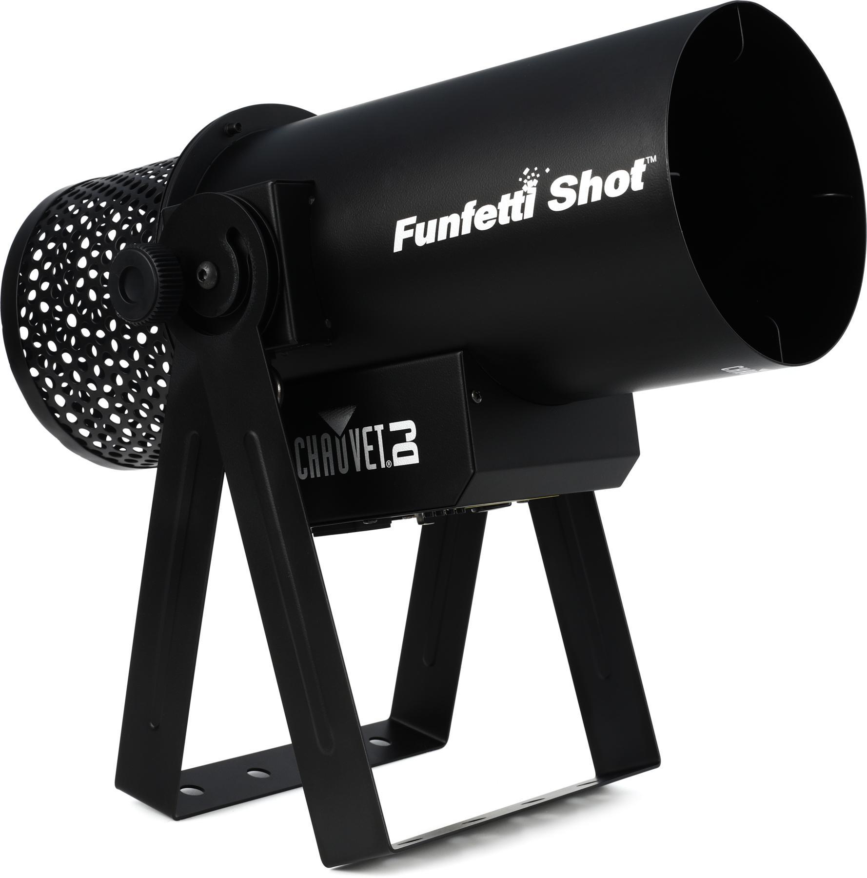 1. Chauvet DJ Funfetti Shot Confetti Launcher