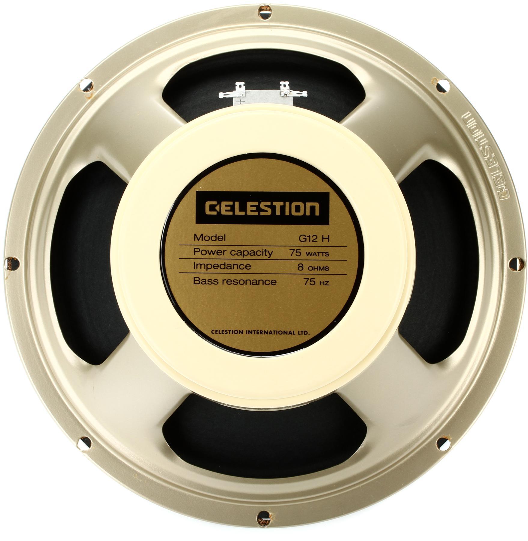 "5. Celestion G12H-75 Creamback - 12"", 8 Ohm, 75-Watt"