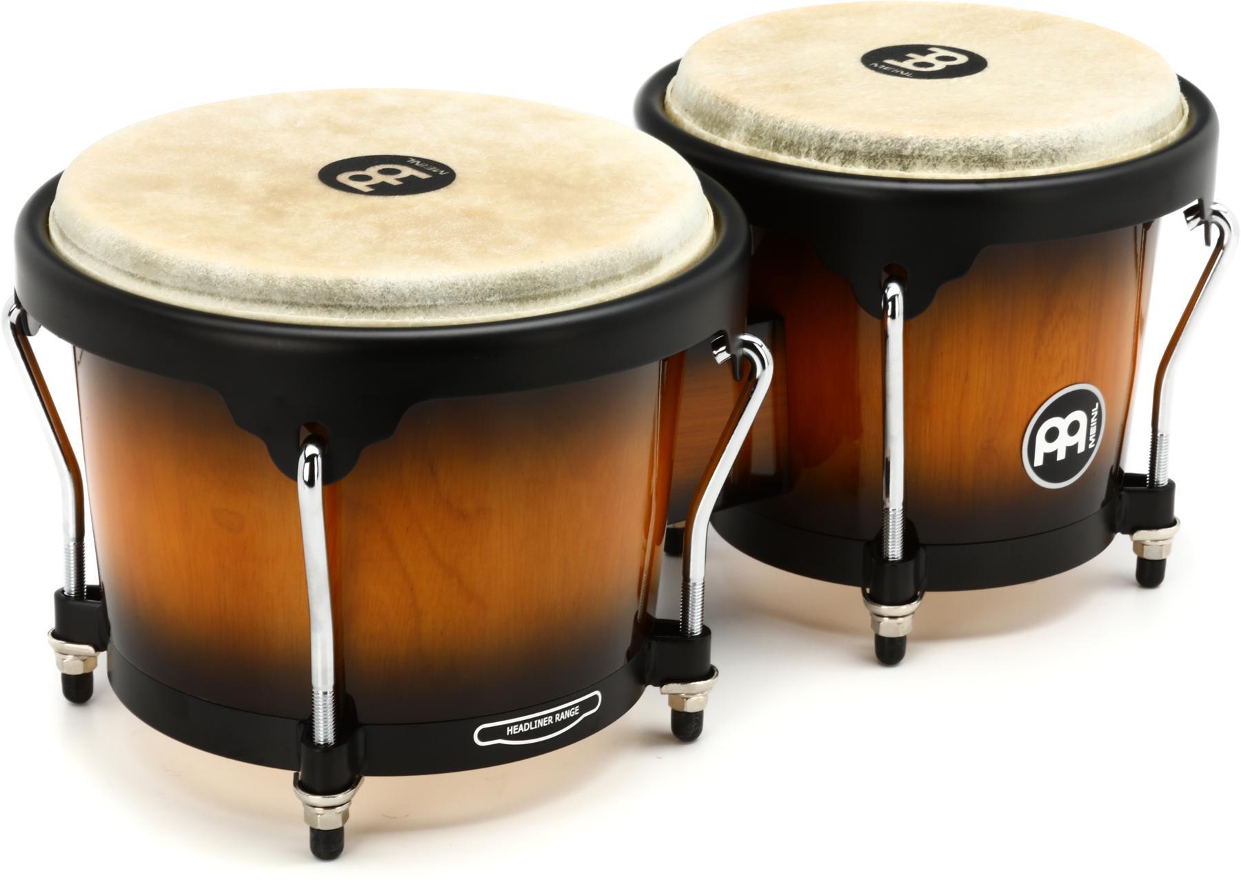 1. Meinl Percussion Bongos With Hardwood Shells