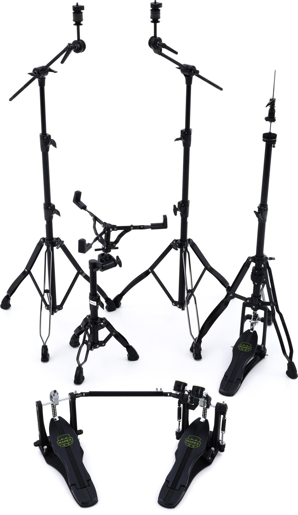 3. Mapex Armory 5-piece Hardware Pack (with Double Pedal)