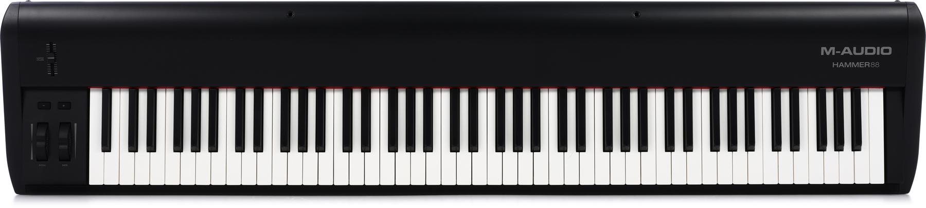 5. M-Audio Hammer 88-Key USB MIDI Keyboard