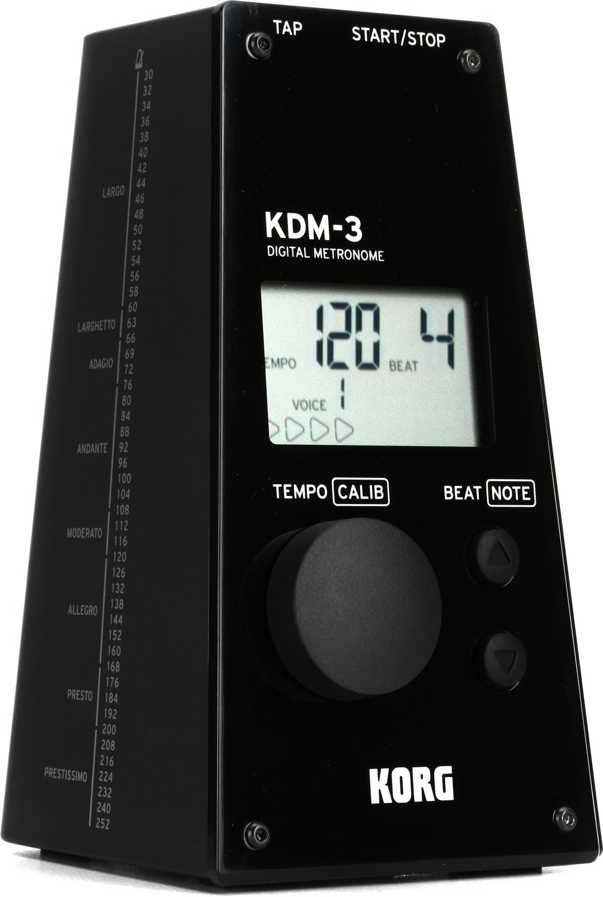 2. Korg KDM-3 Digital Metronome