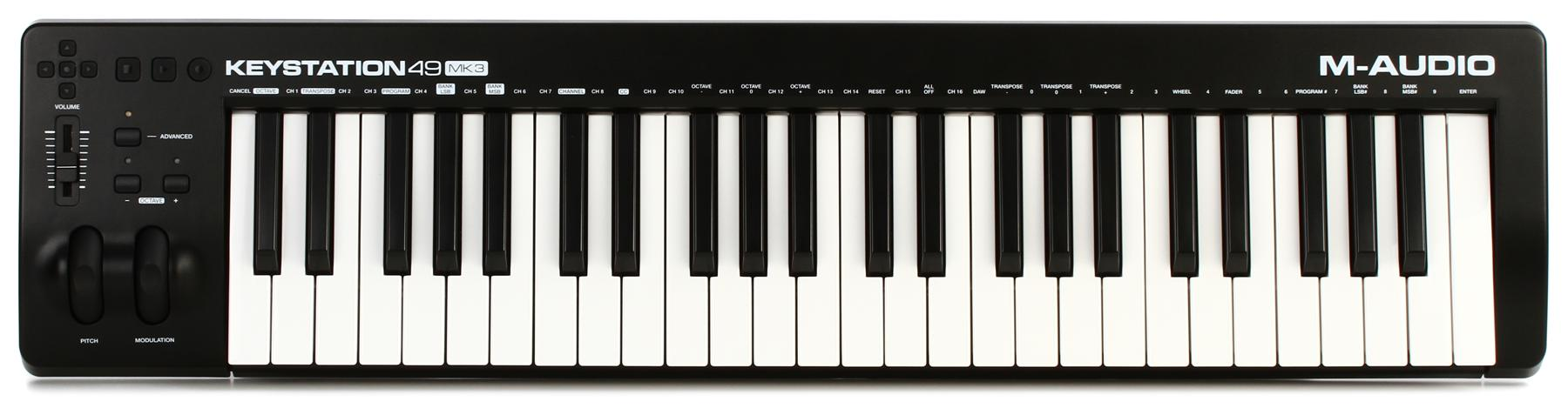 5.  M-Audio Keystation 49 MK3