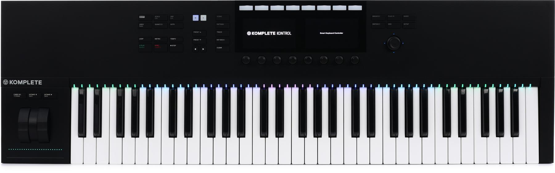 Native Instruments Komplete Kontrol S61 Smart Keyboard Controller