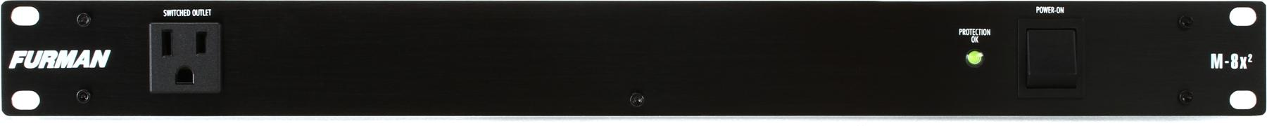 1. Furman M-8x2 8 Outlet Power Conditioner