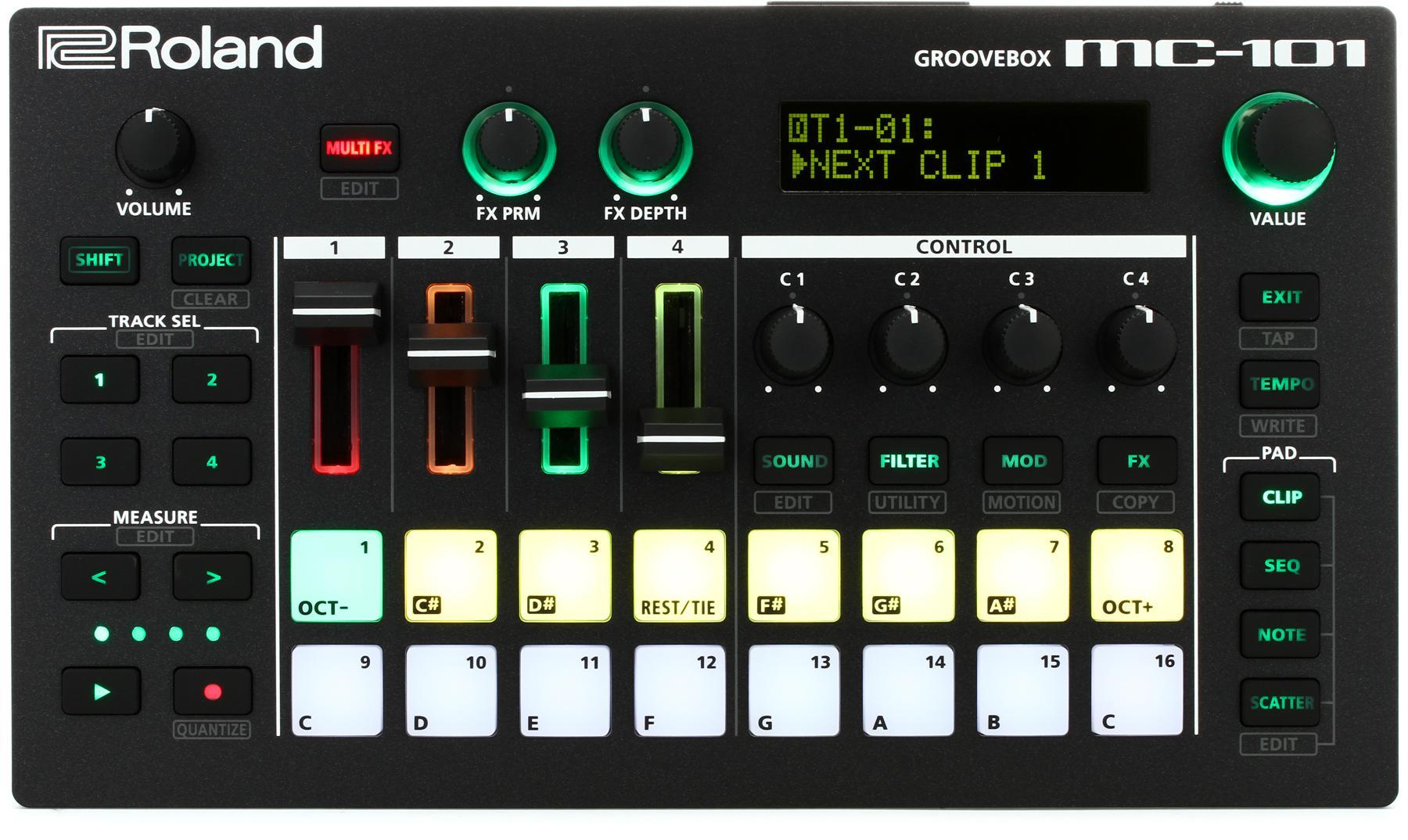 5. Roland MC-101 Groovebox