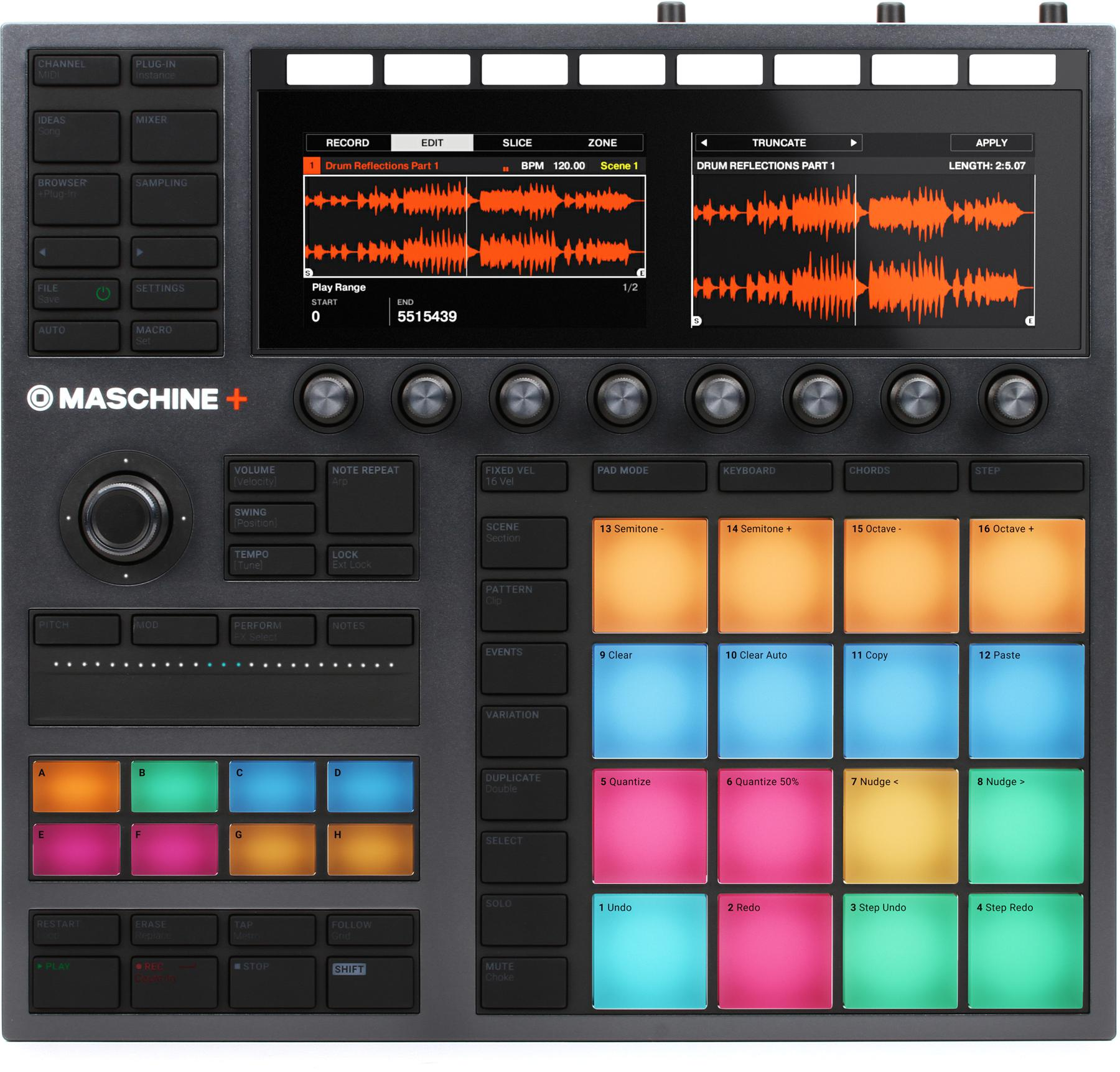 Native Instruments Maschine Plus Standalone Production and Performance Instrument