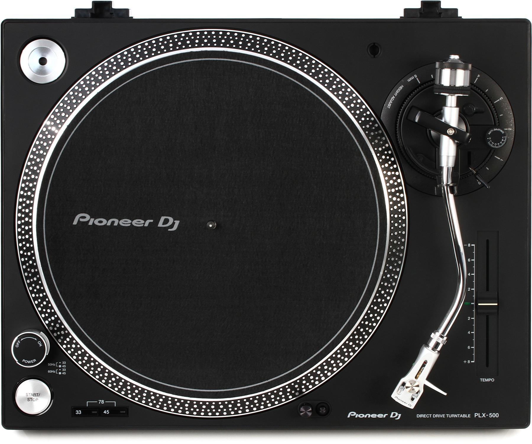 5. Pioneer DJ PLX-500 Direct Drive Turntable