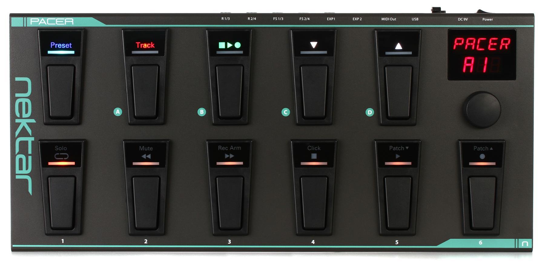 4. Nektar Pacer MIDI Foot Controller