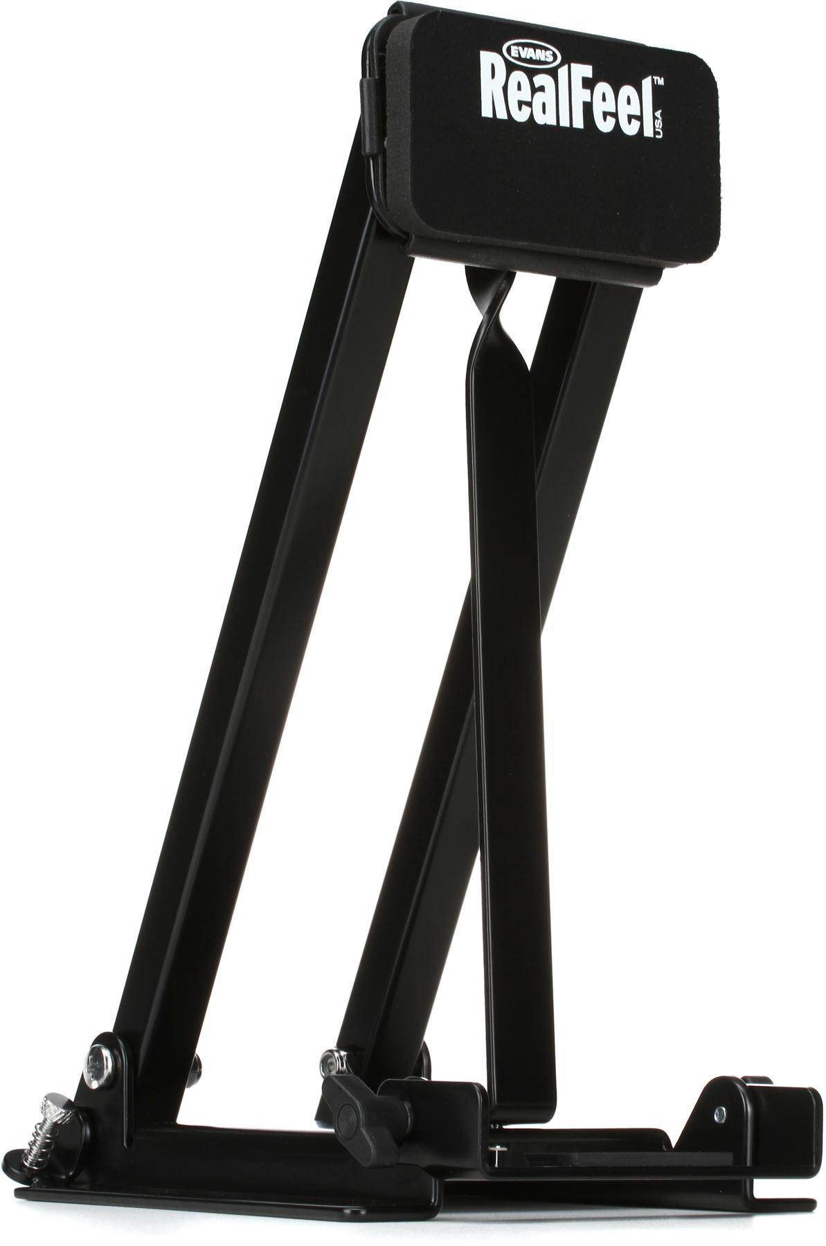 1. Evans RealFeel Folding Bass Pedal Practice Pad