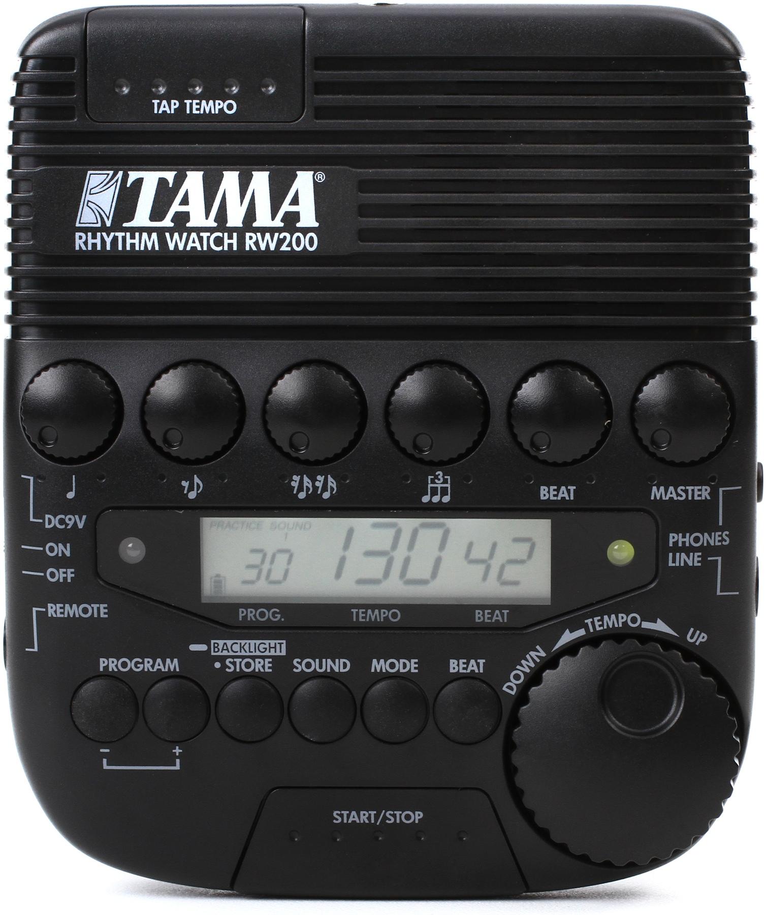 5. Tama RW200 Rhythm Watch - Drummer's Metronome