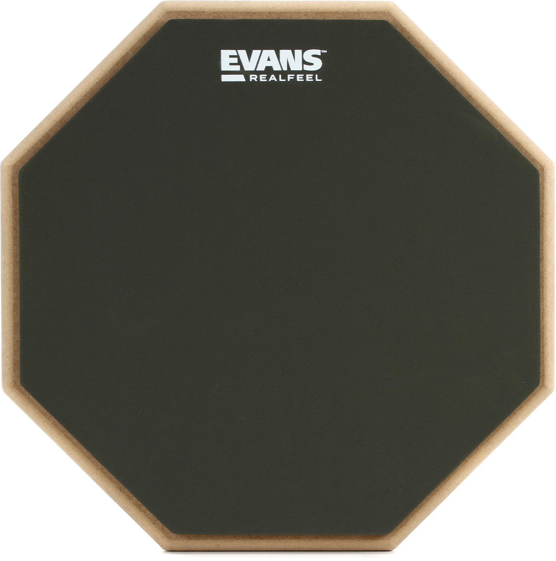 1. Evans Realfeel 2-Sided Practice Pad
