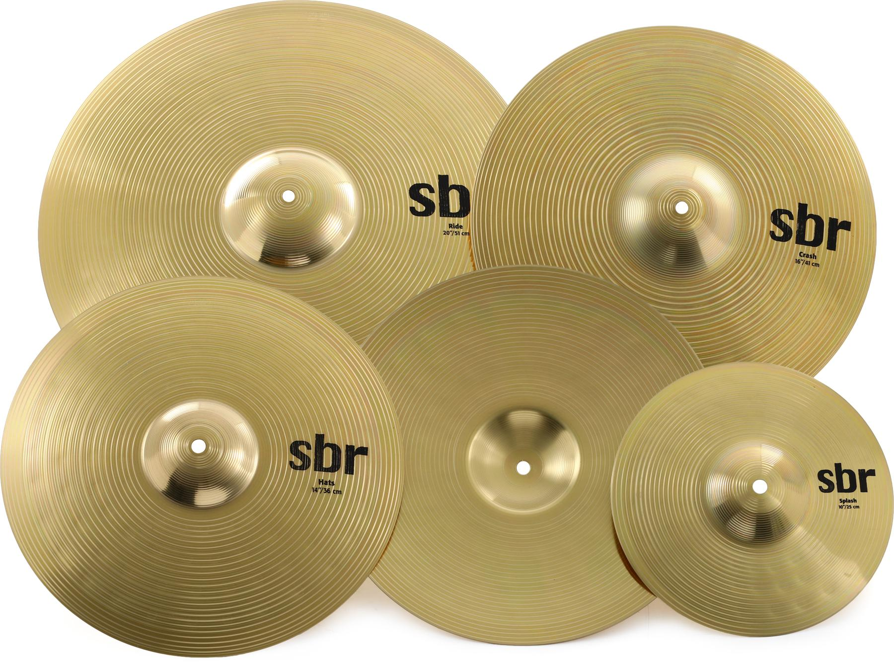 2. Sabian SBR Promotional Cymbal Set