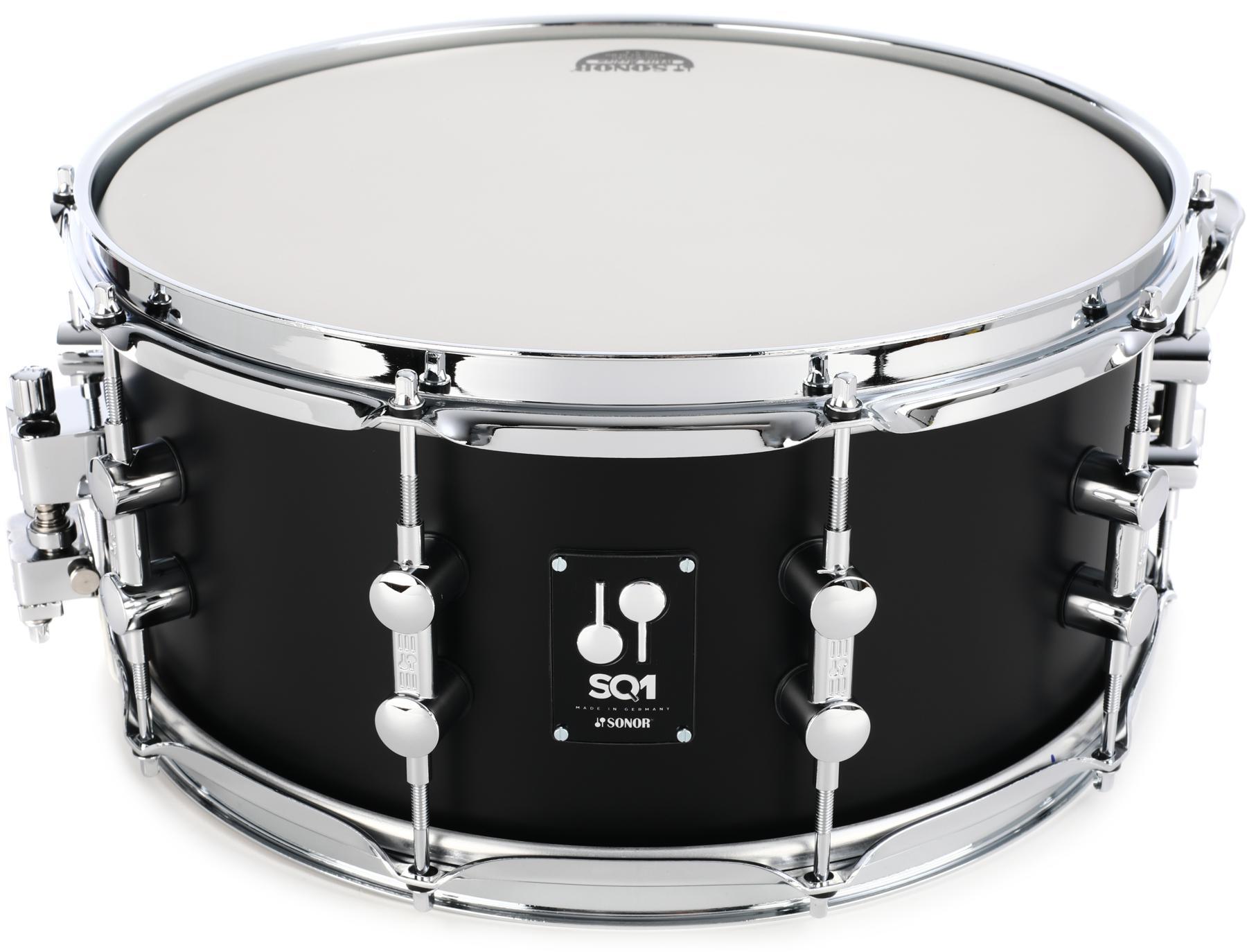 7. Sonor SQ1 Snare Drum 14 x 6.5 in