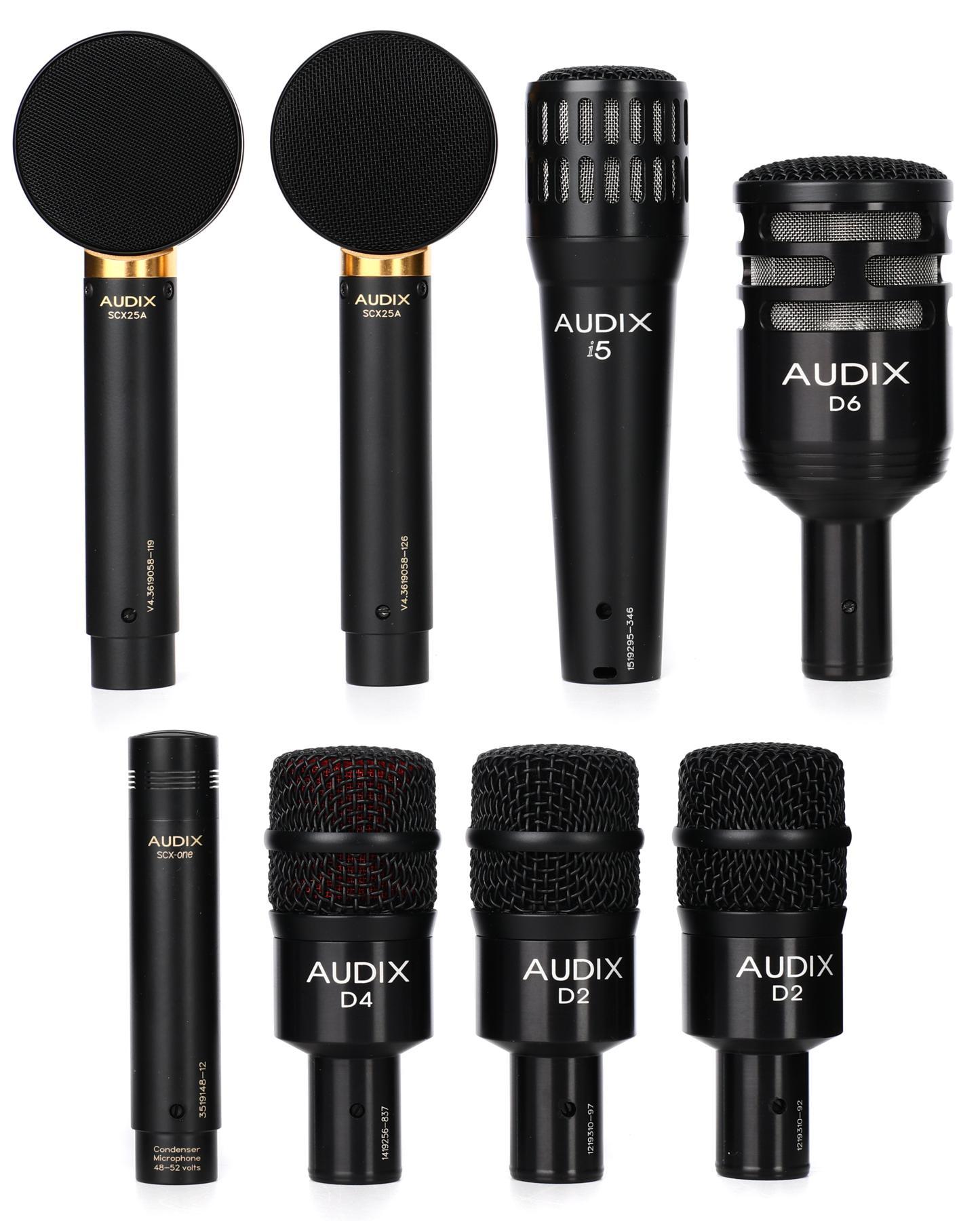 5. Audix Studio Elite 8 Kit
