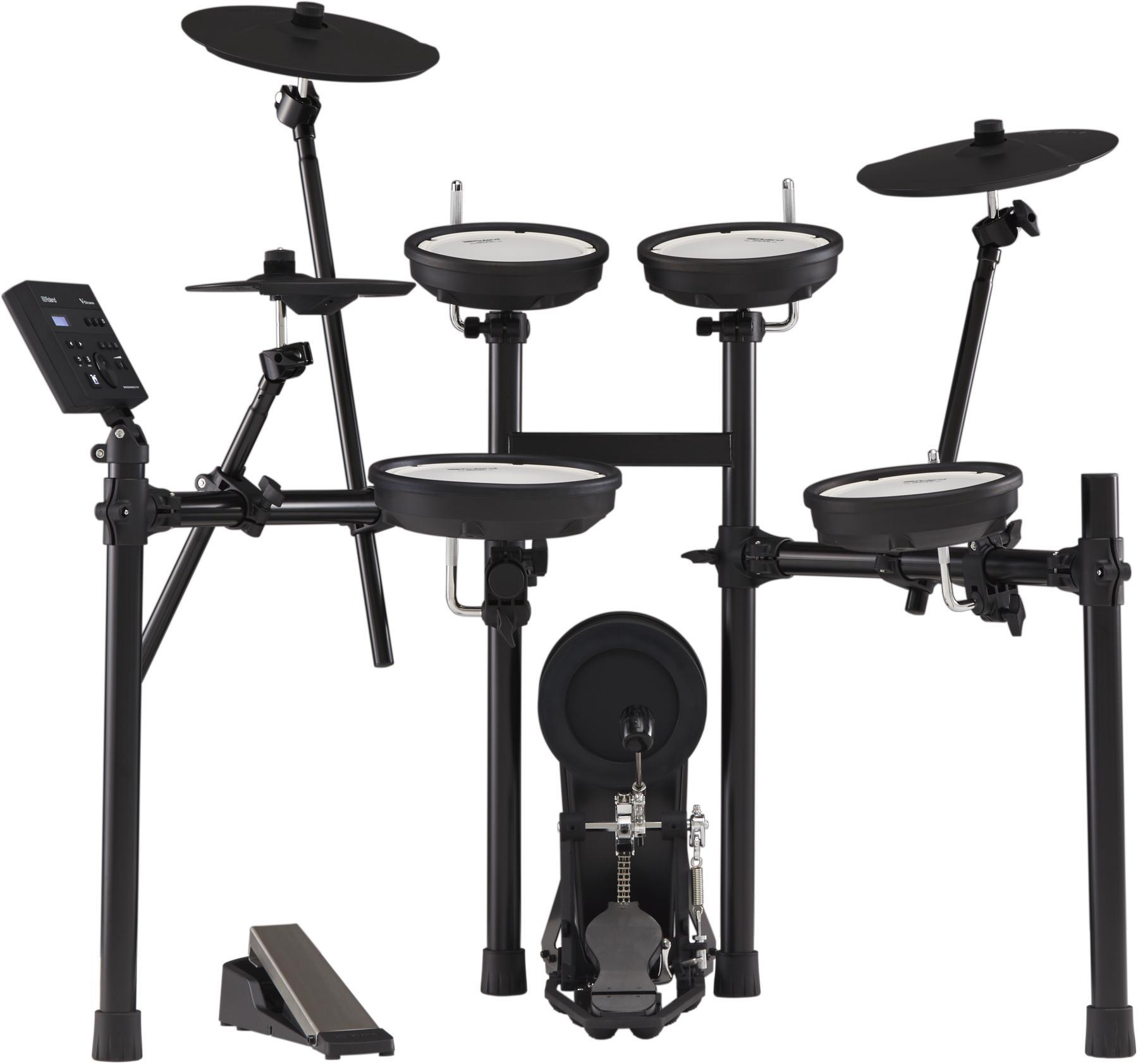 4. Roland V-Drums TD-07KV Electronic Drum Set