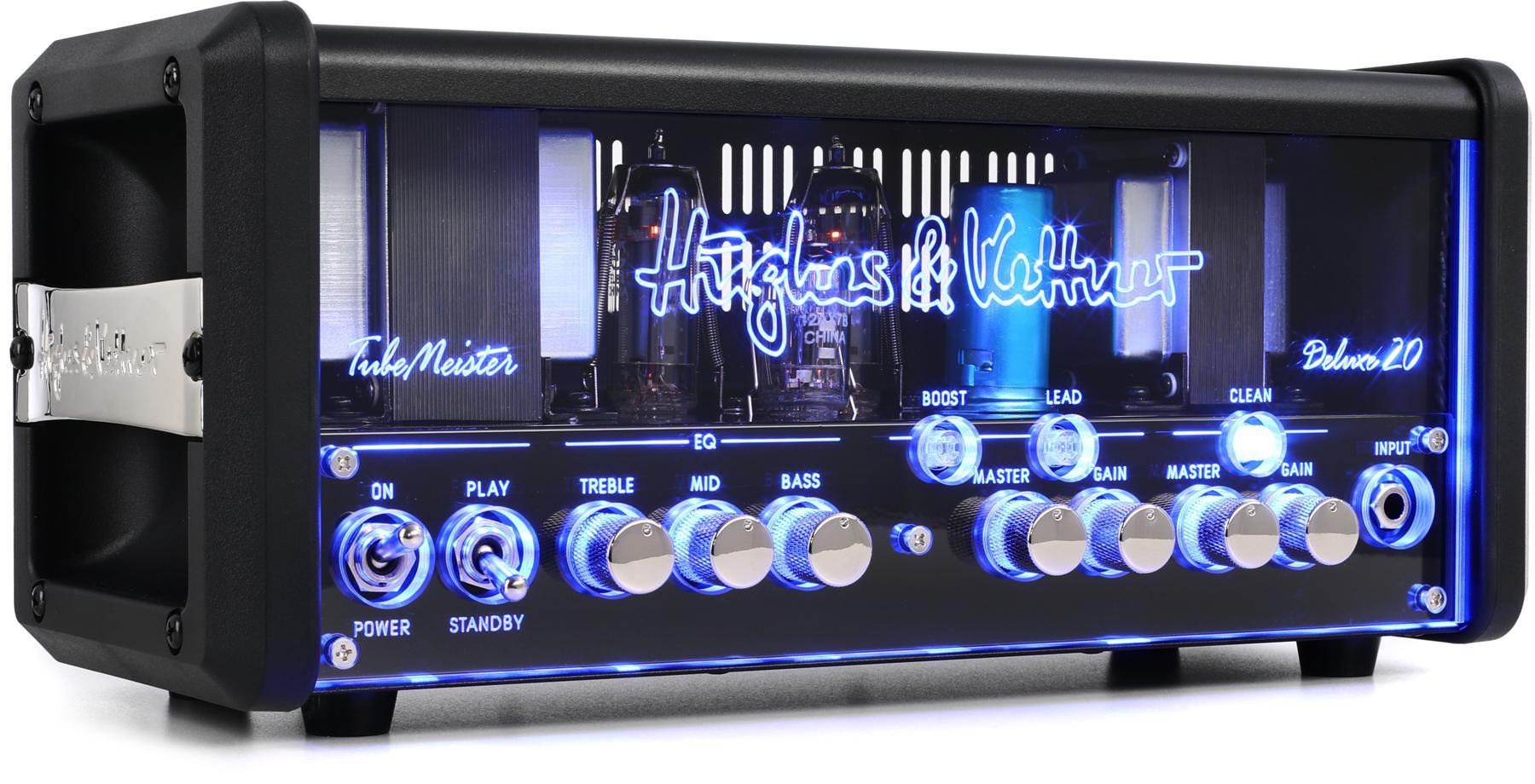 6. Hughes & Kettner TubeMeister 18-18/5/1-watt Tube Head