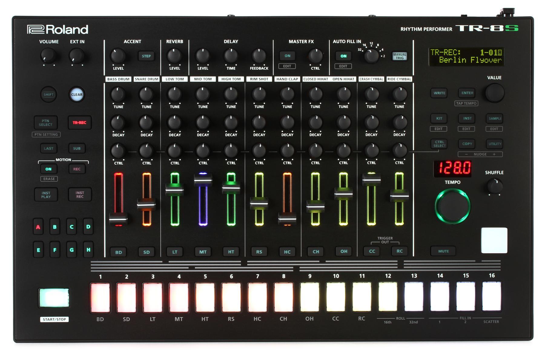 1. Roland TR-8S Rhythm Performer