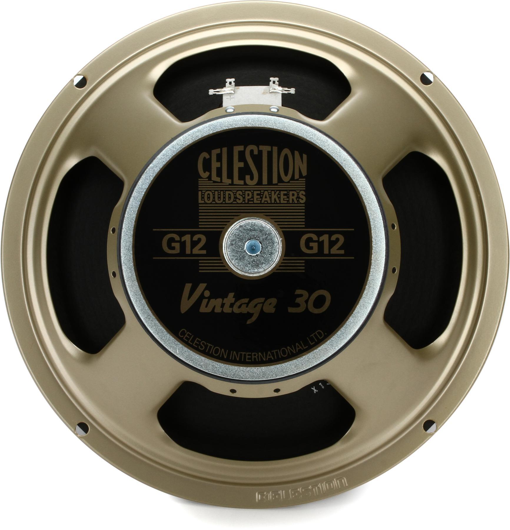 "1. Celestion Vintage 30 - 12"", 60-Watt"