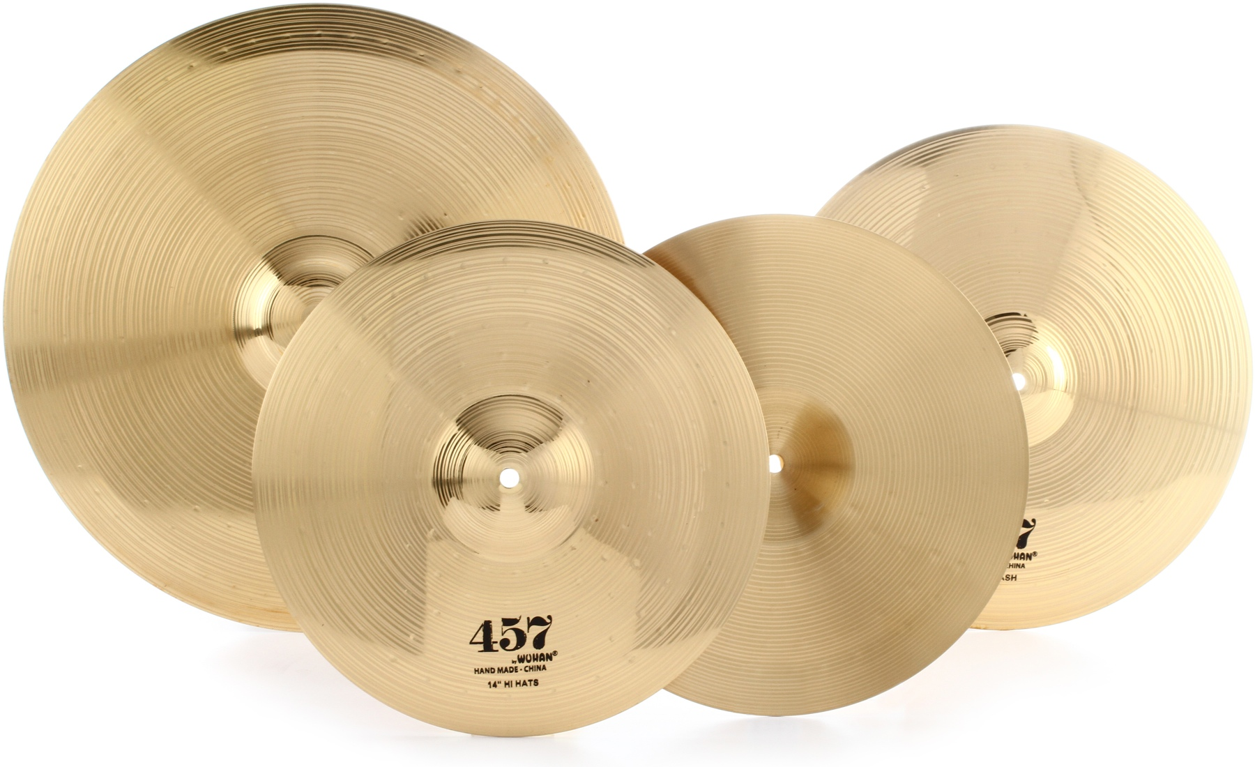 Wuhan 457 Cymbal Pack