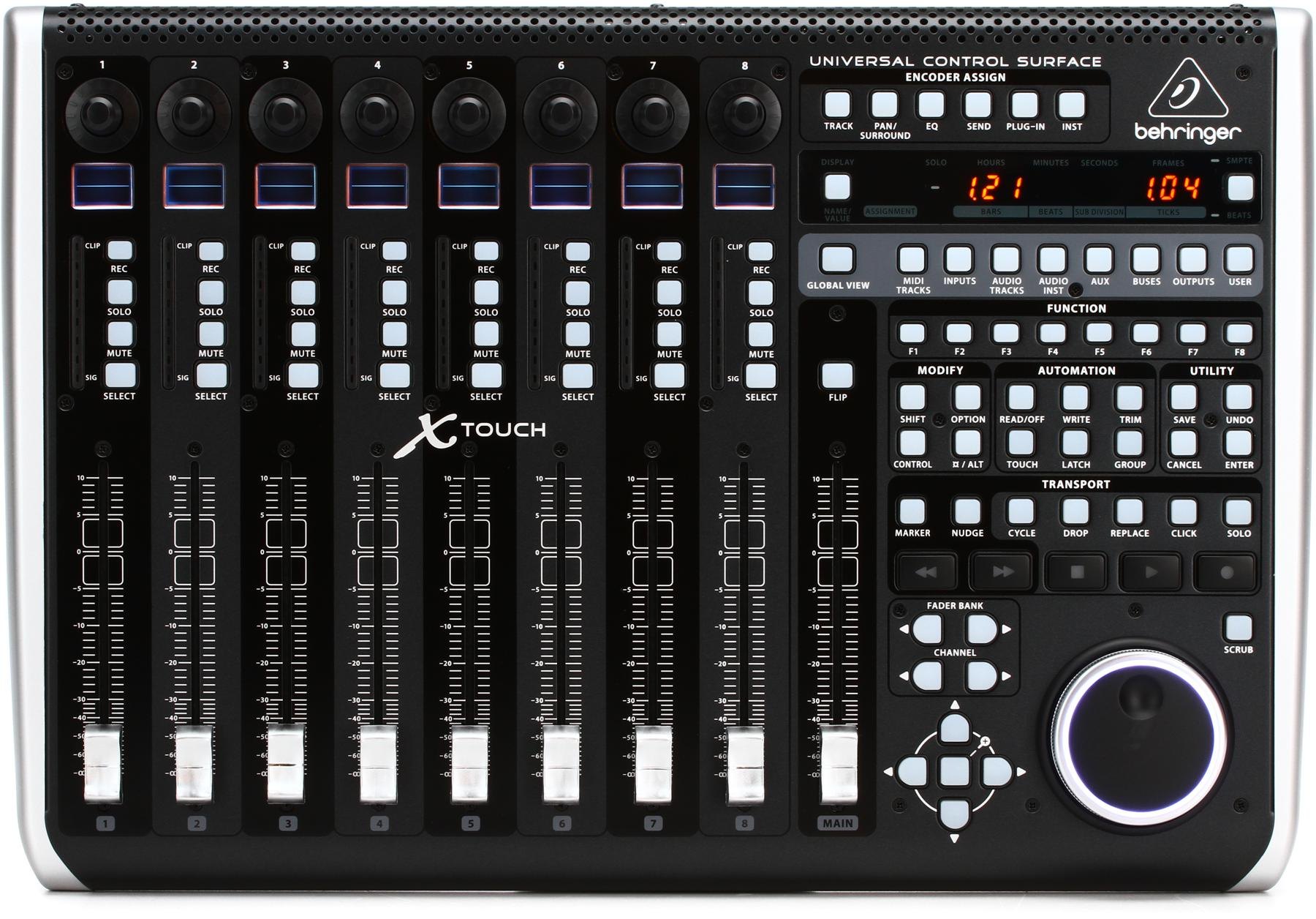6. Behringer X-Touch Universal Control Surface