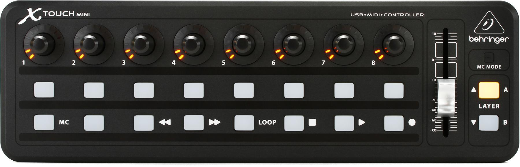 4. Behringer X-Touch Mini