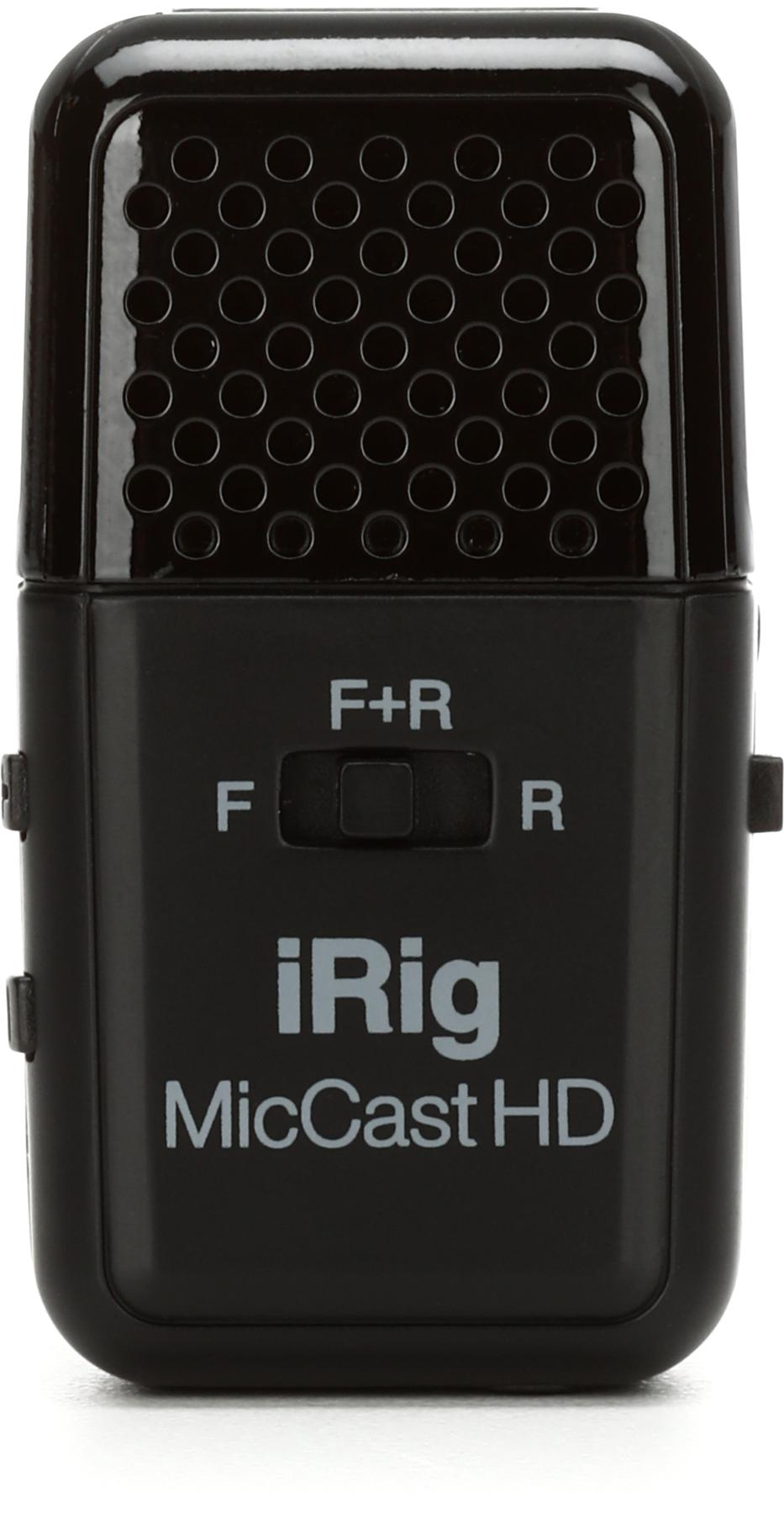 3. IK Multimedia iRig Mic Cast HD iOS Microphone