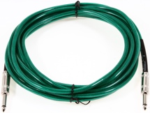 Fender Accessories 18' Guitar Cables - Surf Green - 18'