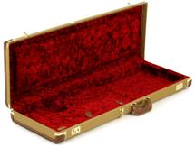 Fender Accessories Deluxe Strat/Tele Case - Tweed w/ Red Poodle Plush Interior
