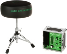 Porter & Davies BC2 Drum Throne - Round Seat with Base