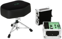 Porter & Davies BC2 Drum Throne - Extra-wide Seat with Base