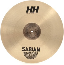 Sabian HH Raw Bell Dry Ride Cymbal - 20