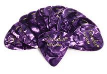 Fender 351 Premium Guitar Picks - Medium Purple Moto - 12-Pack