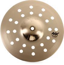 "Sabian AAX Aero Splash Cymbal - 10"" Brilliant Finish"